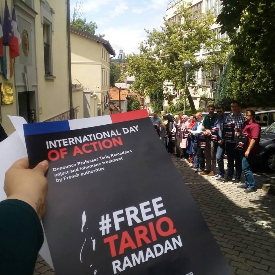 Održan skup podrške Tariku Ramadanu u Sarajevu