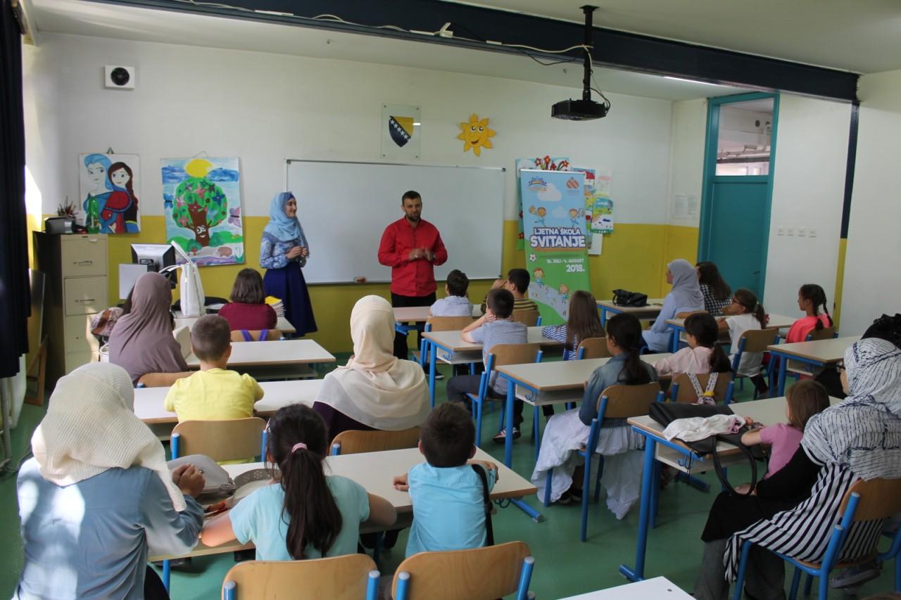 Počela je Ljetna škola Svitanja 2018: Tri sedmice učenja kroz igru i zabavu