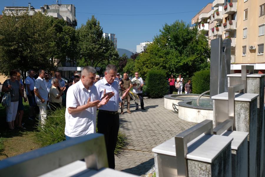 Sjećanje na šehide i poginule borce Alipašinog Polja
