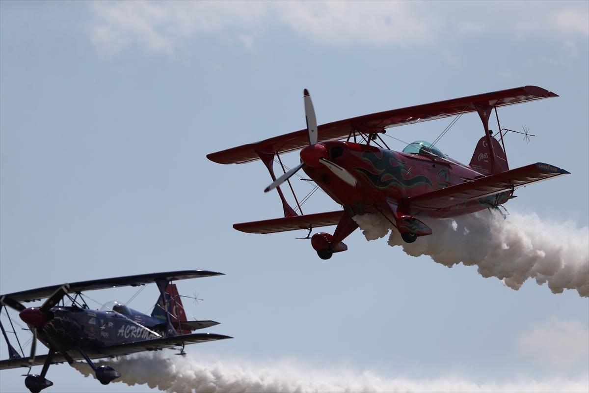 Turska: Otac i kćerka osvajaju nebeske visine kao pioniri akrobatskog zrakoplovstva