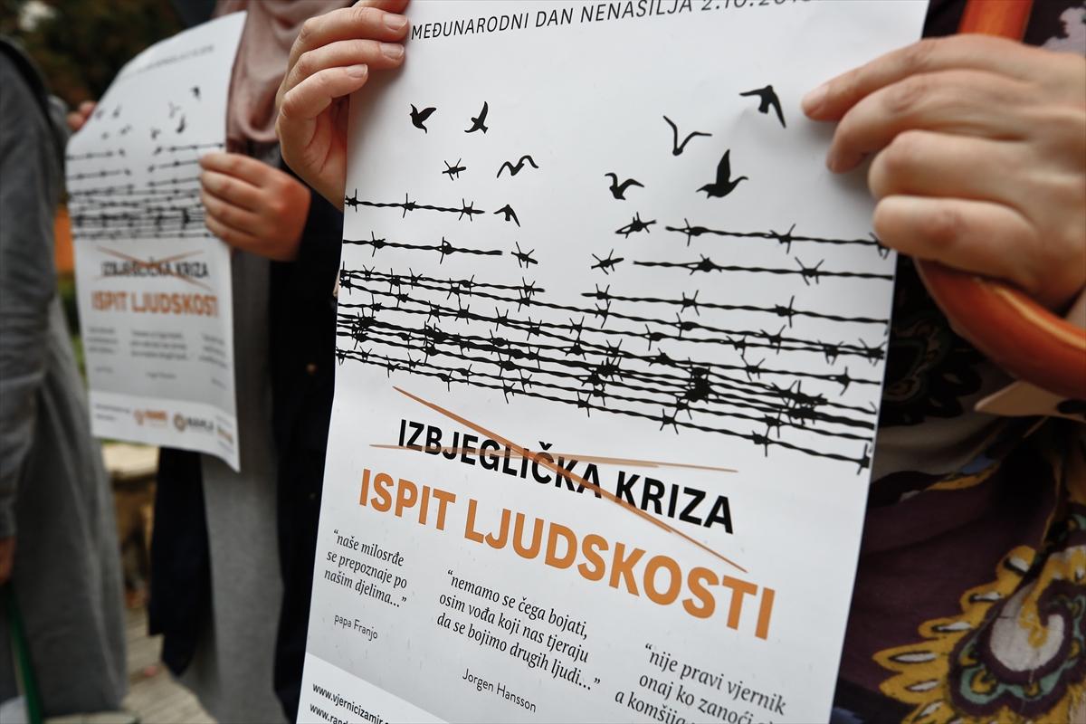 Ulična akcija u Sarajevu posvećena migrantima: Nije izbjeglička kriza nego ispit ljudskosti