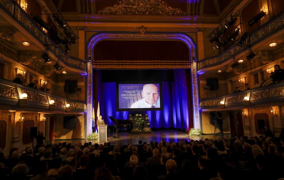 Sarajevo: Akademija povodom 15. godišnjice smrti Alije Izetbegovića