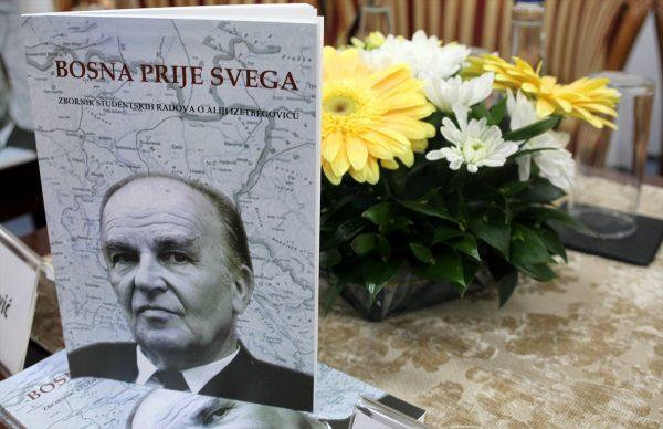 """U Novom Pazaru prestavljen zbornik radova """"Bosna prije svega"""" o Aliji Izetbegoviću"""