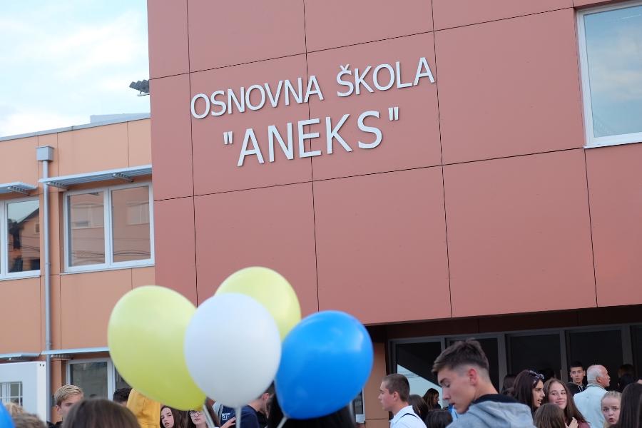 Svečanost u povodu otvaranja Osnovne škole na Aneksu
