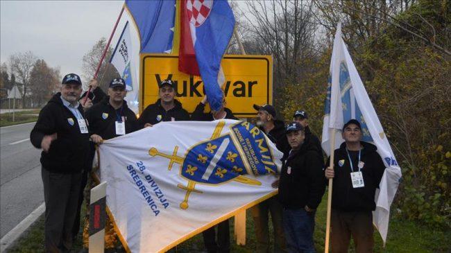 Marš Srebrenica – Vukovar: Zbog ljiljana nije dozvoljen prelazak preko teritorije RS