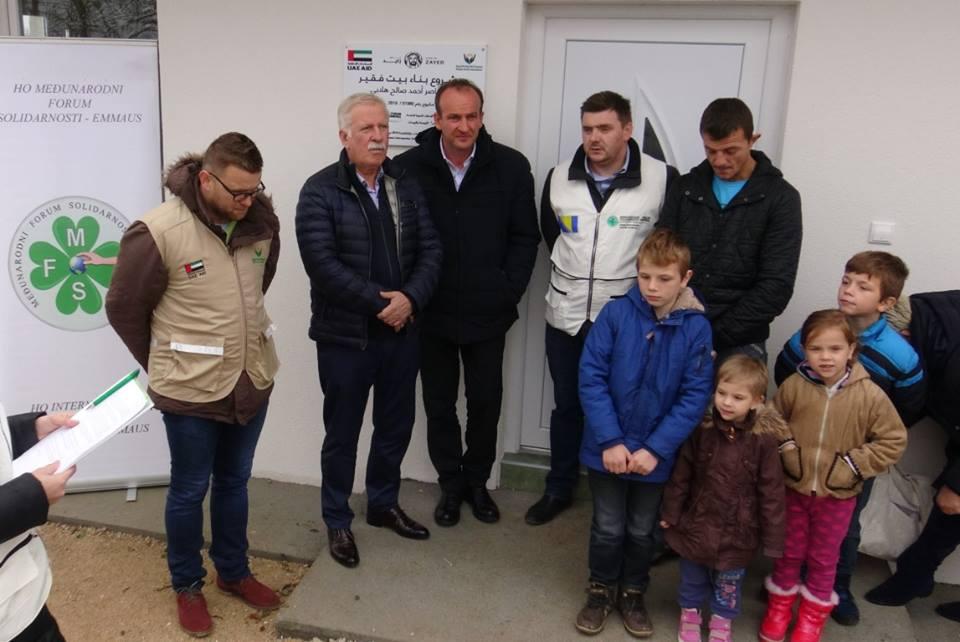 Petočlana porodica Milkić zahvaljujući MFS-EMMAUS-u od danas u novoj kući