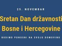 Dan državnosti BiH: Odlučnost naroda da njihova zemlja bude zbratimljena zajednica