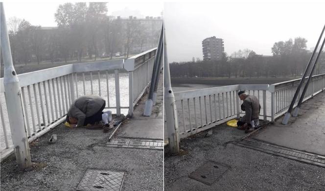 Zenica: Za dedu Osmana koji klanja na mostu na štandu skupljaju novac za umru