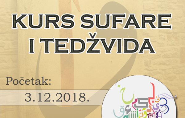 Udruženje Svitanje organizuje novi kurs arapskog pisma-sufare
