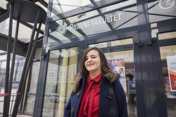 Džejna Suljević, pravnica sa desetkom: Mladi ne treba da odustaju od onog što žele