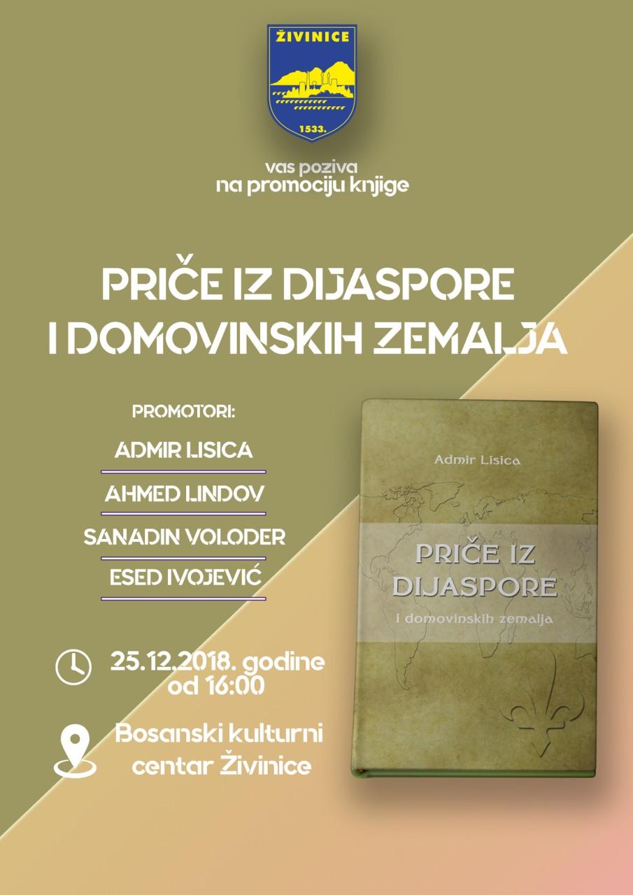 "Promocija knjige ""Priče iz dijaspore i domovinskih zemalja"" u Živinicama"