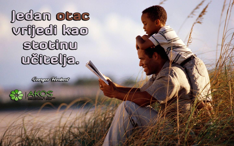 Očevi savjeti sinu… riječi zlata vrijedne