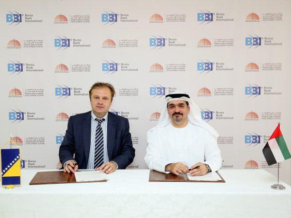 Uspostavljena saradnja između BBI banke i Dubai Islamic Economy Development Centra