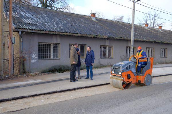 Načelnik Efendić obišao radove na rekonstrukciji vodovodne mreže u Rajlovcu