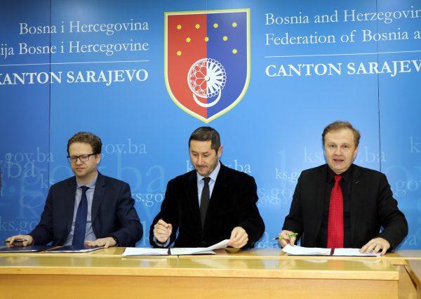 Kanton potpisivanje ugovora