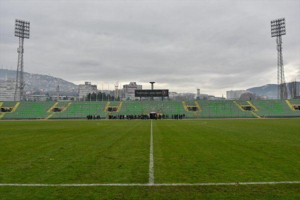 """Pripreme za EYOF: Velika akcija čišćenja stadiona """"Asim Ferhatović Hase"""""""