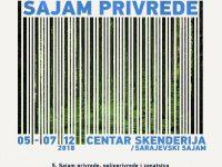 Sarajevo: U Centru Skenderija od 5. decembra Sajam privrede, poljoprivrede i zanatstva