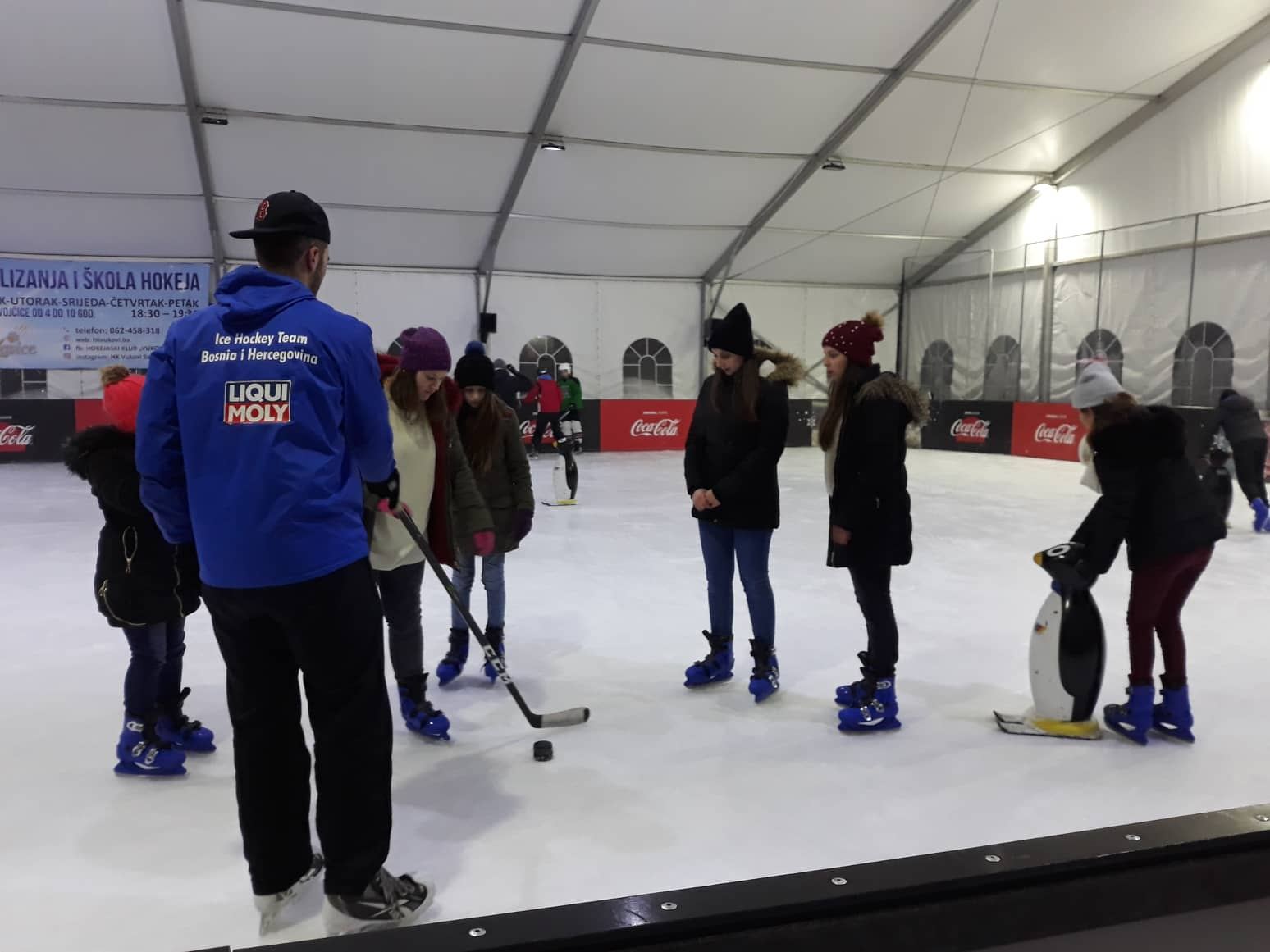 Hokej na ledu za djecu iz manjeg bh. entiteta